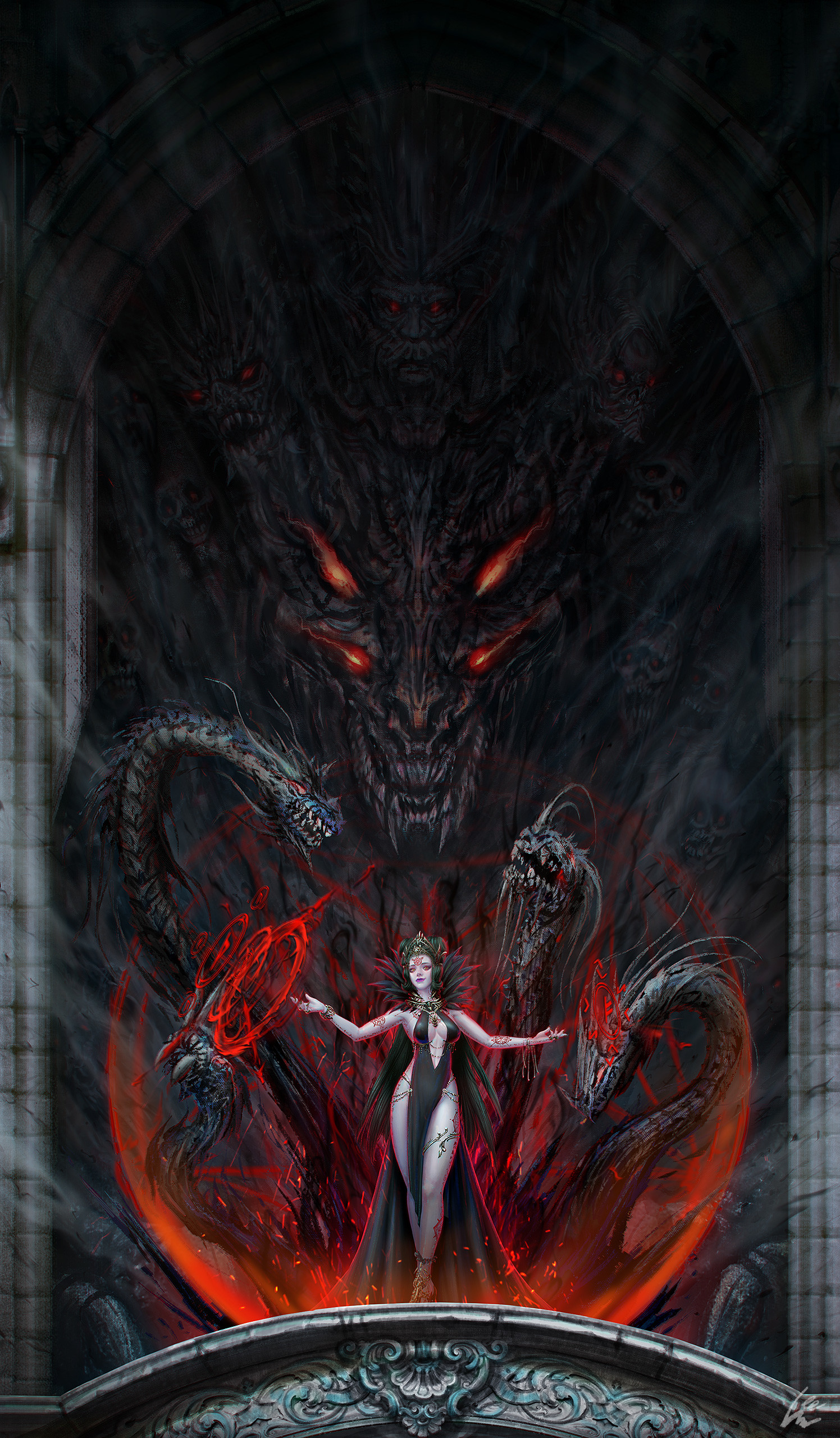 R o iaki fantasyillustration concept 001 12