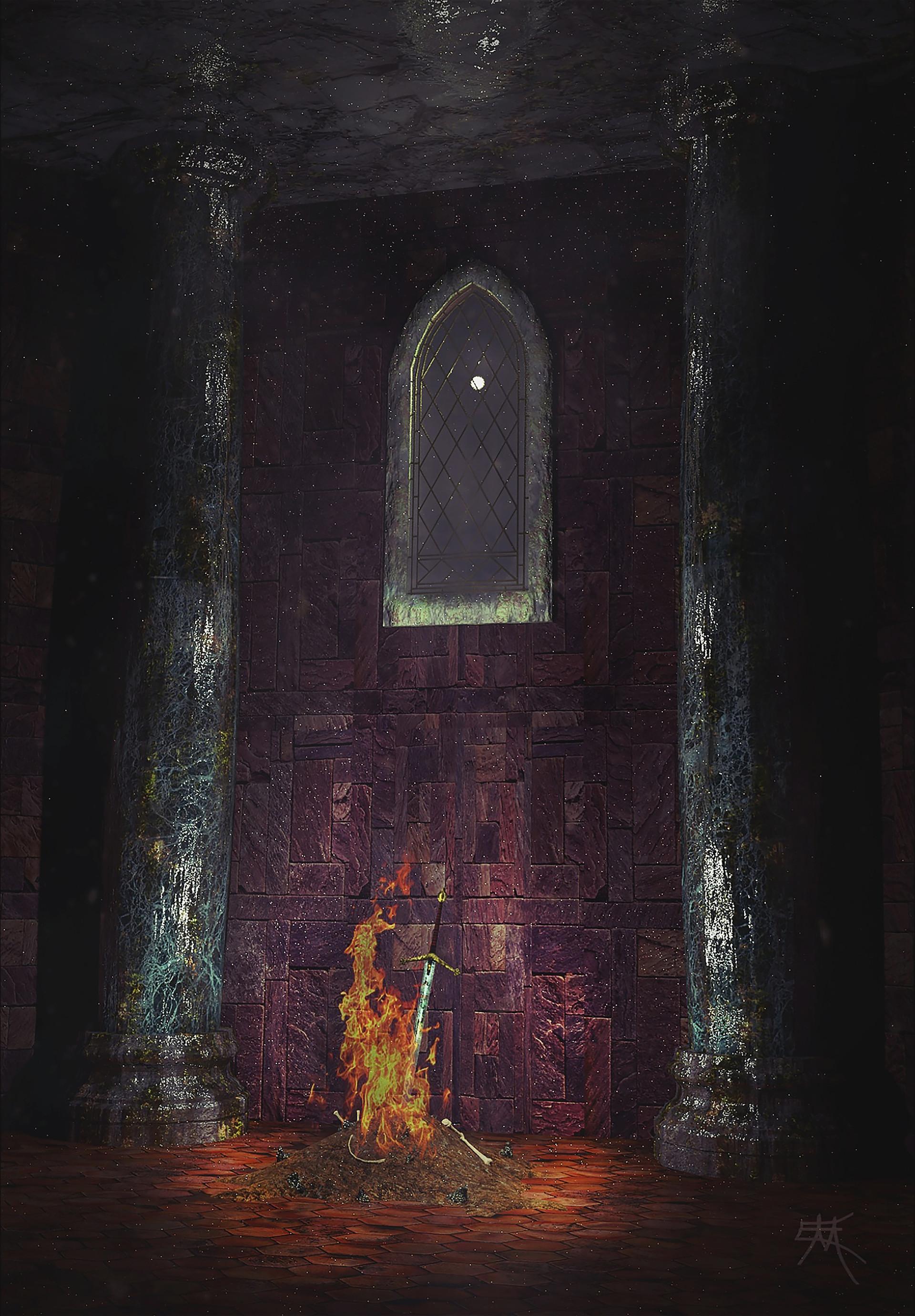 Dark Souls Concept Art Envireoment