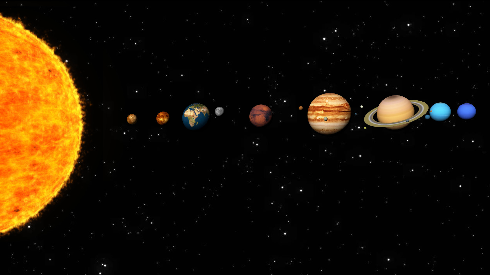 solar system images - HD1920×1080