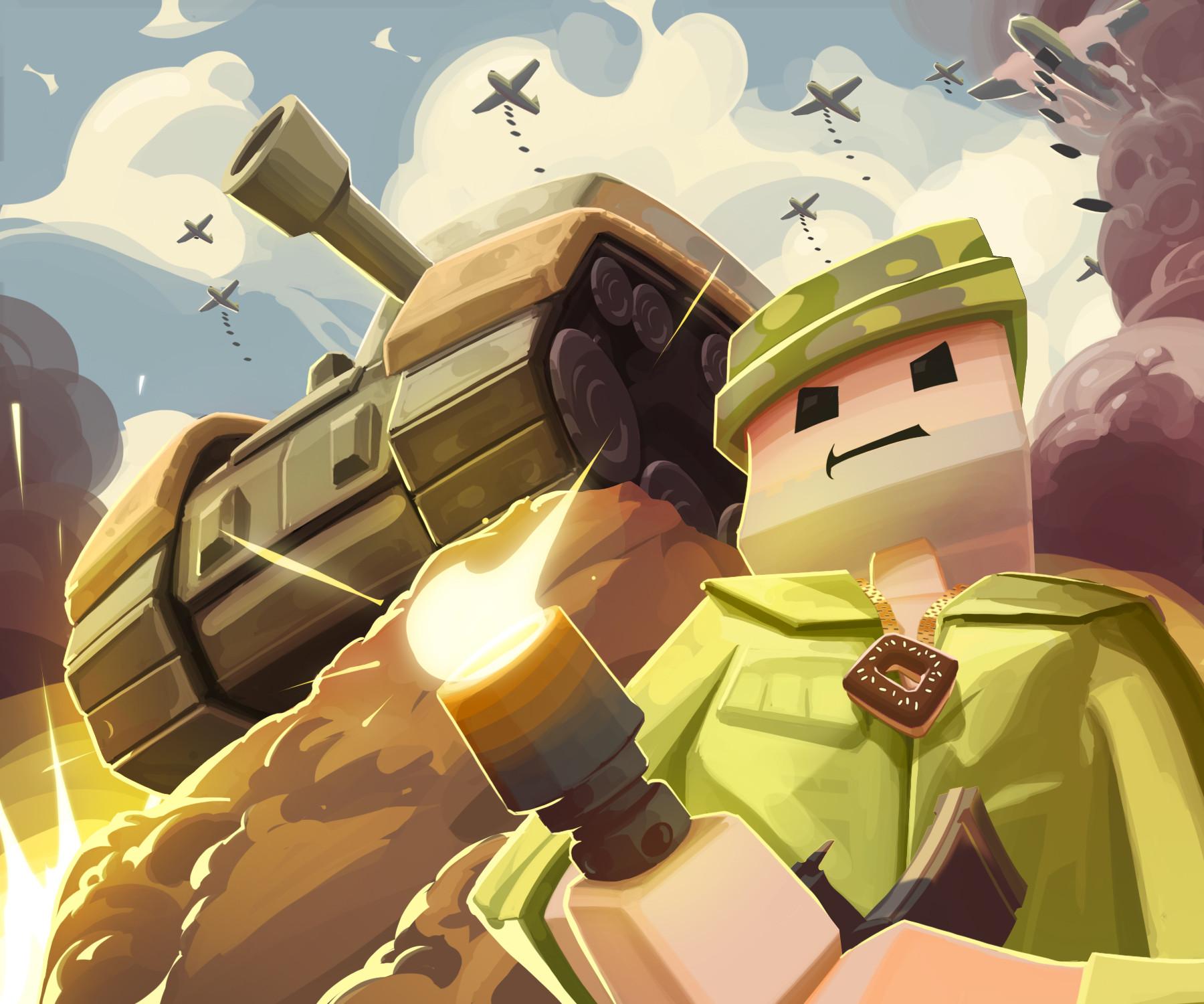 Nicolas morales world war ii combat illustration b