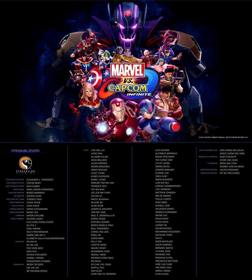 Artstation Marvel Vs Capcom Infinite Gregory Hunt