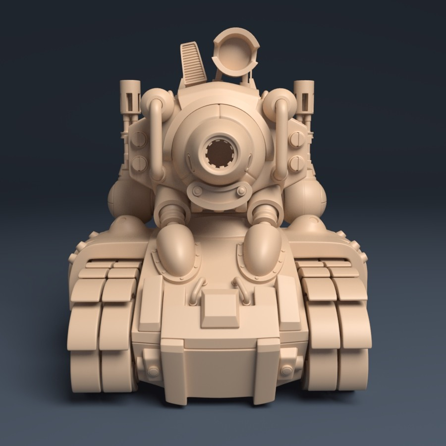 Metal Slug Tank - SV001 | Front