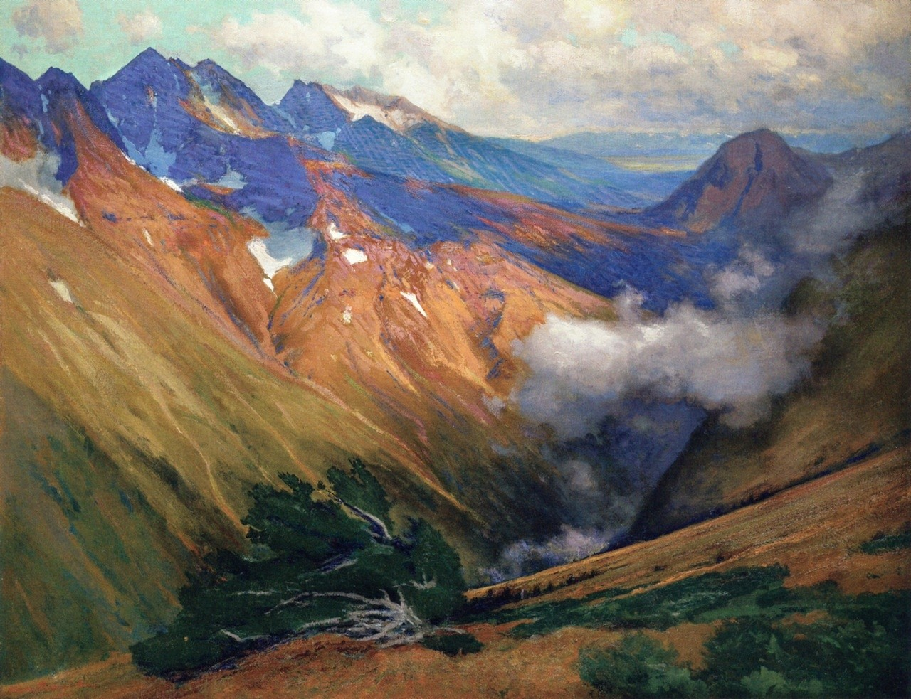 Kate miterko charles partridge adams xx in the vicinity of ouray xx private collection