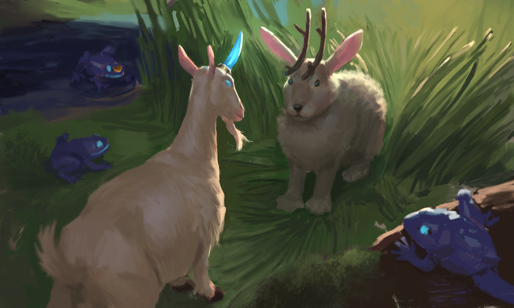 Hesitantly Jackalope agrees to aid Mailgoaticorn, fully knowing what is at stake.