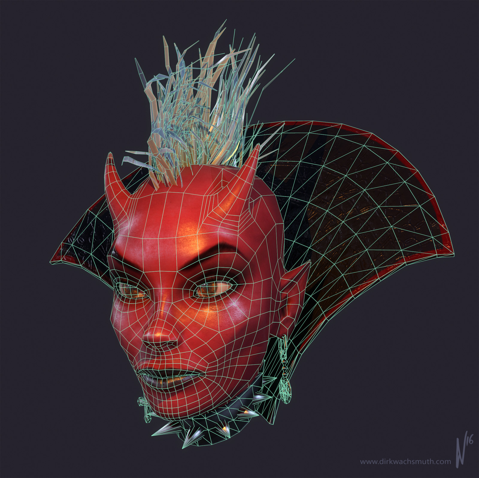 Dirk wachsmuth devil girl 02 wires