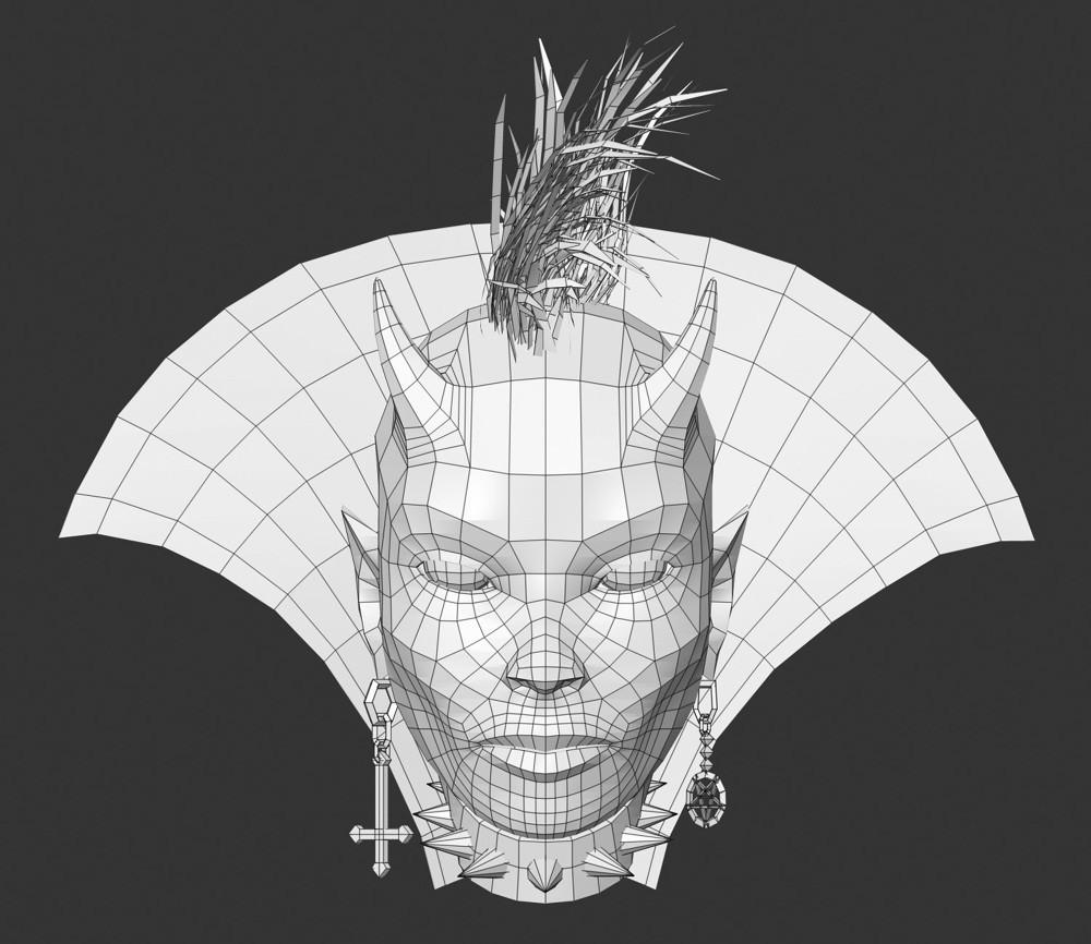 Dirk wachsmuth mybrana devilgirl hex wireframe2 1000