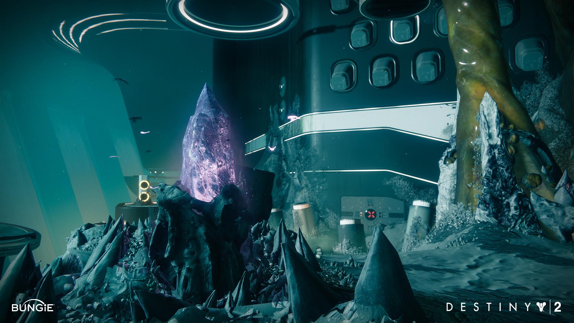 ArtStation - Destiny 2: Hive Strike Crystal, Mike Stavrides