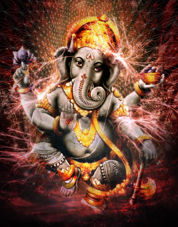 Ganesha Fantasy Art