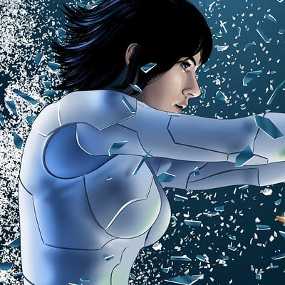 Vassilis dimitros ghost in the shell