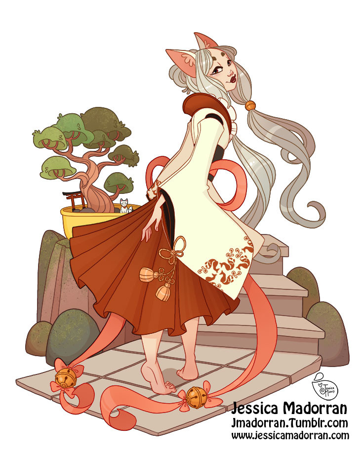 Character Design - Japan Inspired Character 19