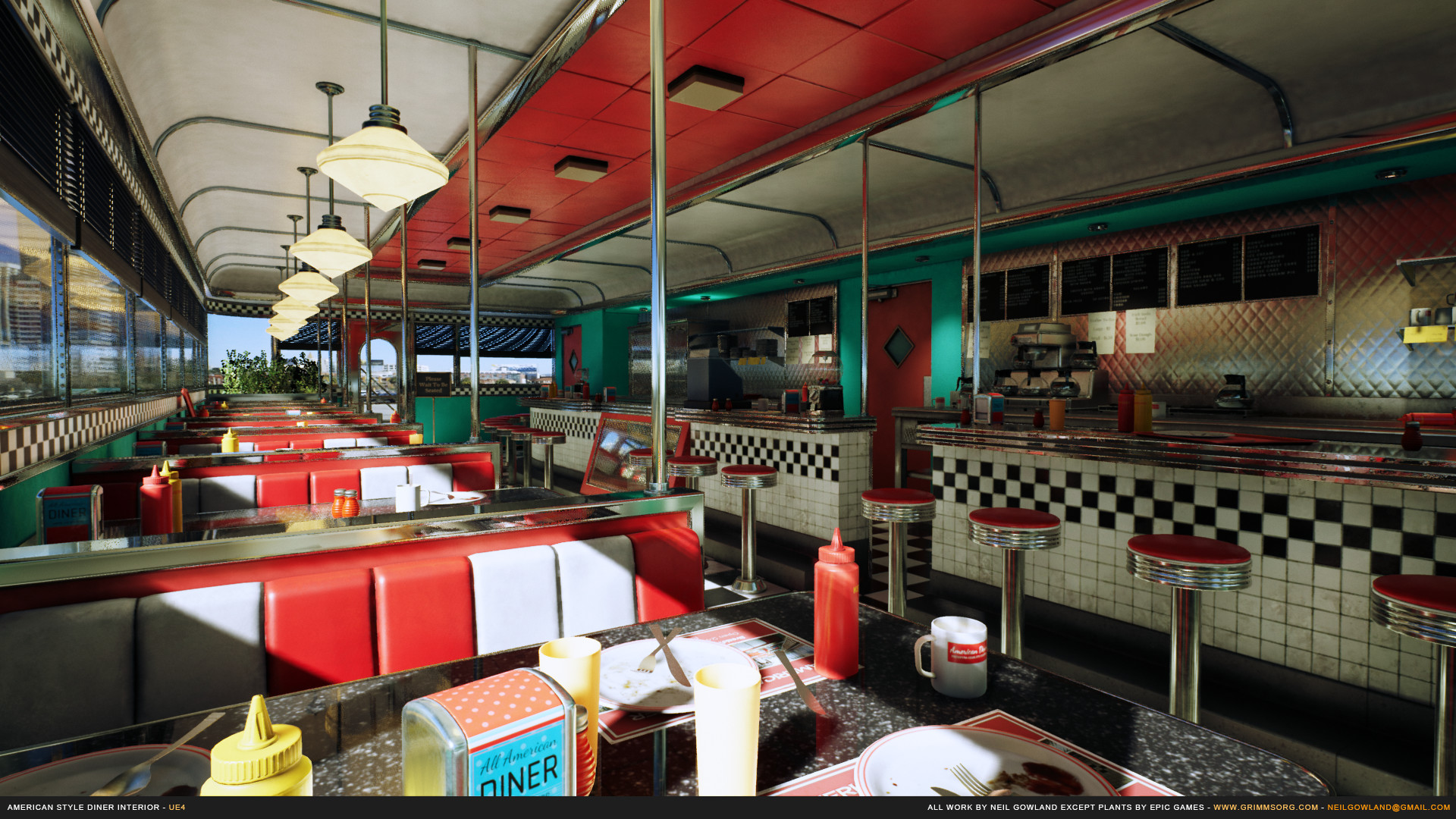 Neil gowland americanstylediner screenshot 01