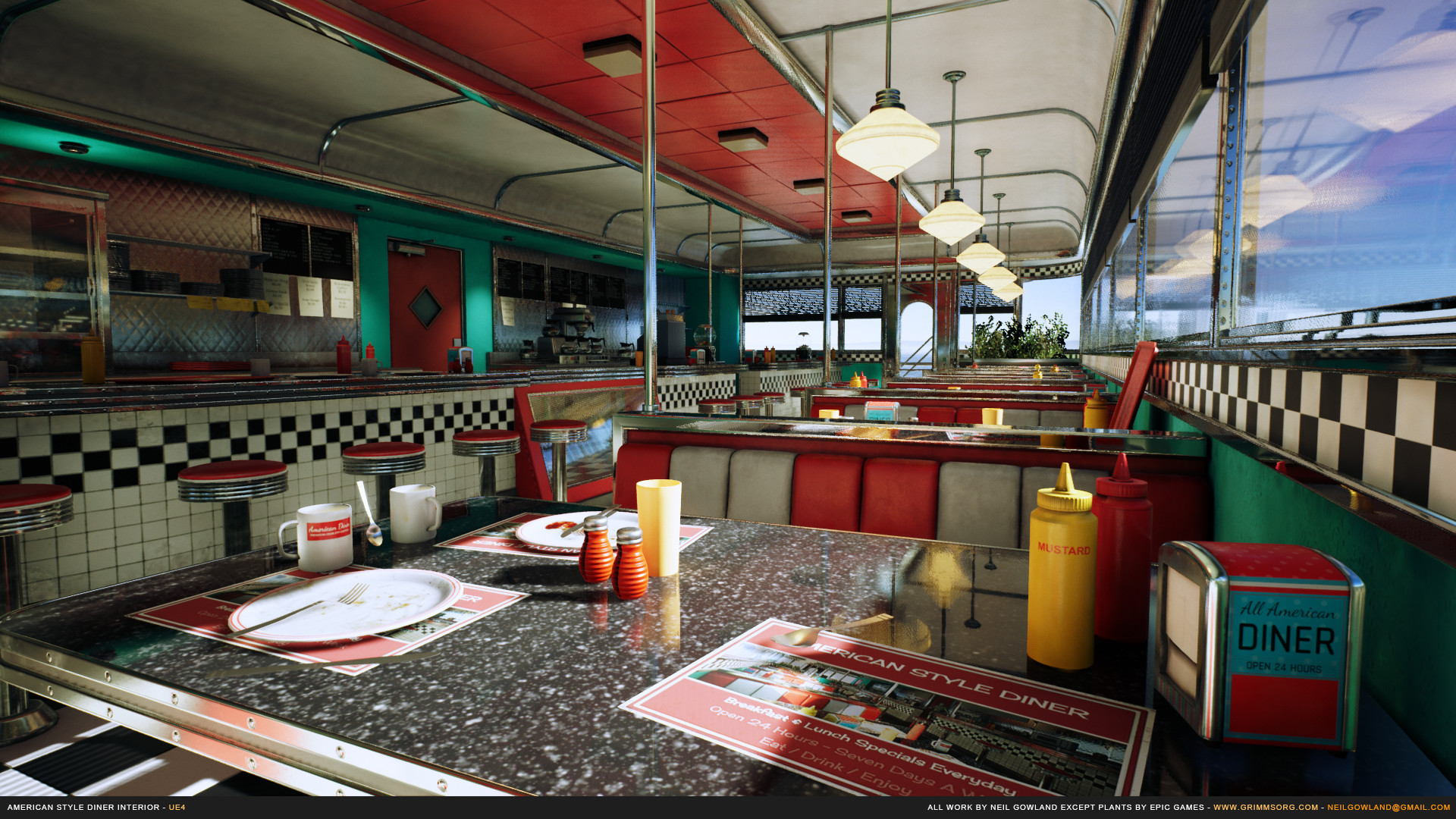 Neil Gowland American Style Diner