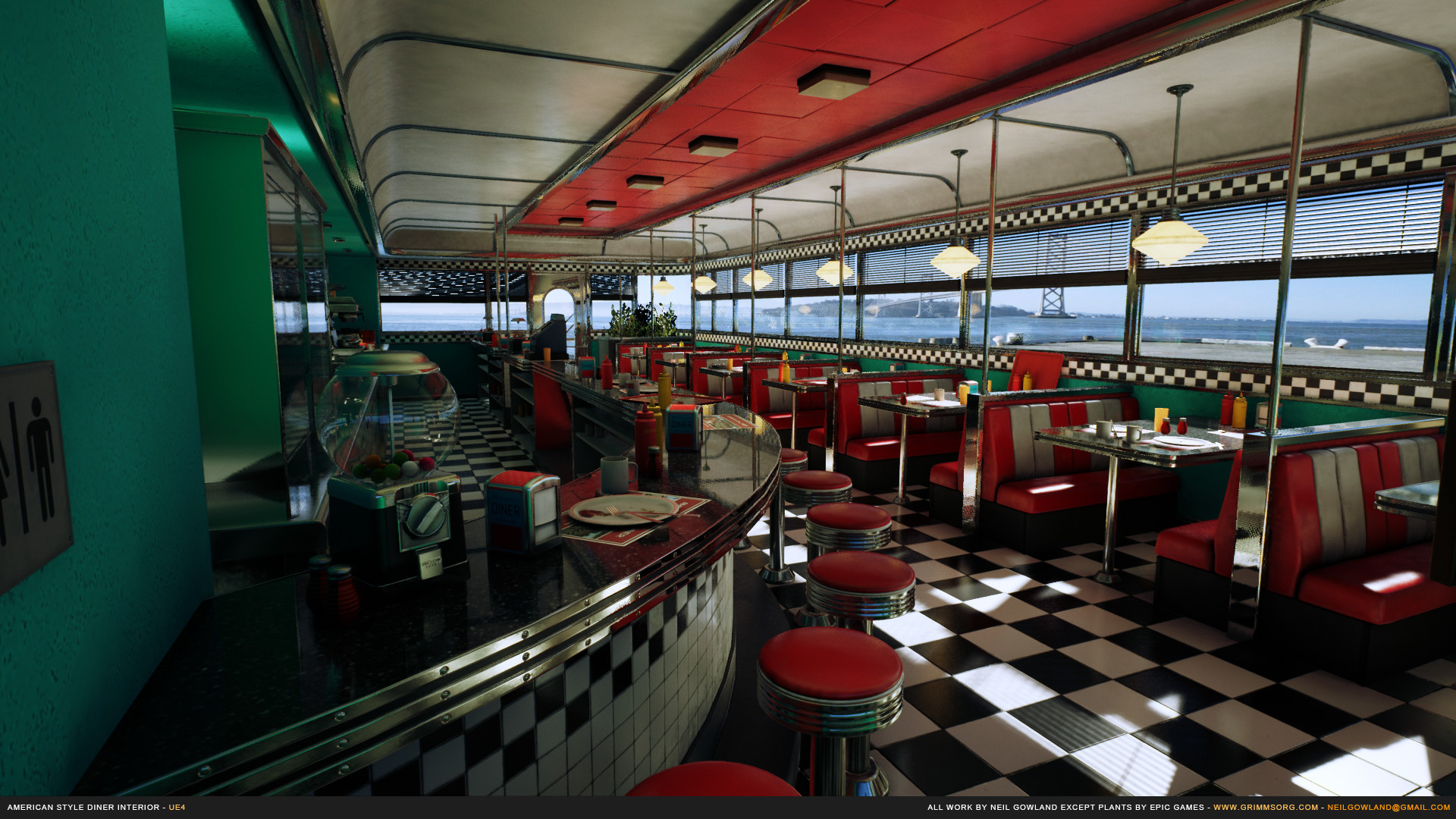 Neil gowland americanstylediner screenshot 03