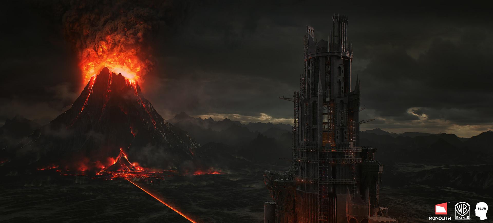 Andrew averkin mount doom landscape 01