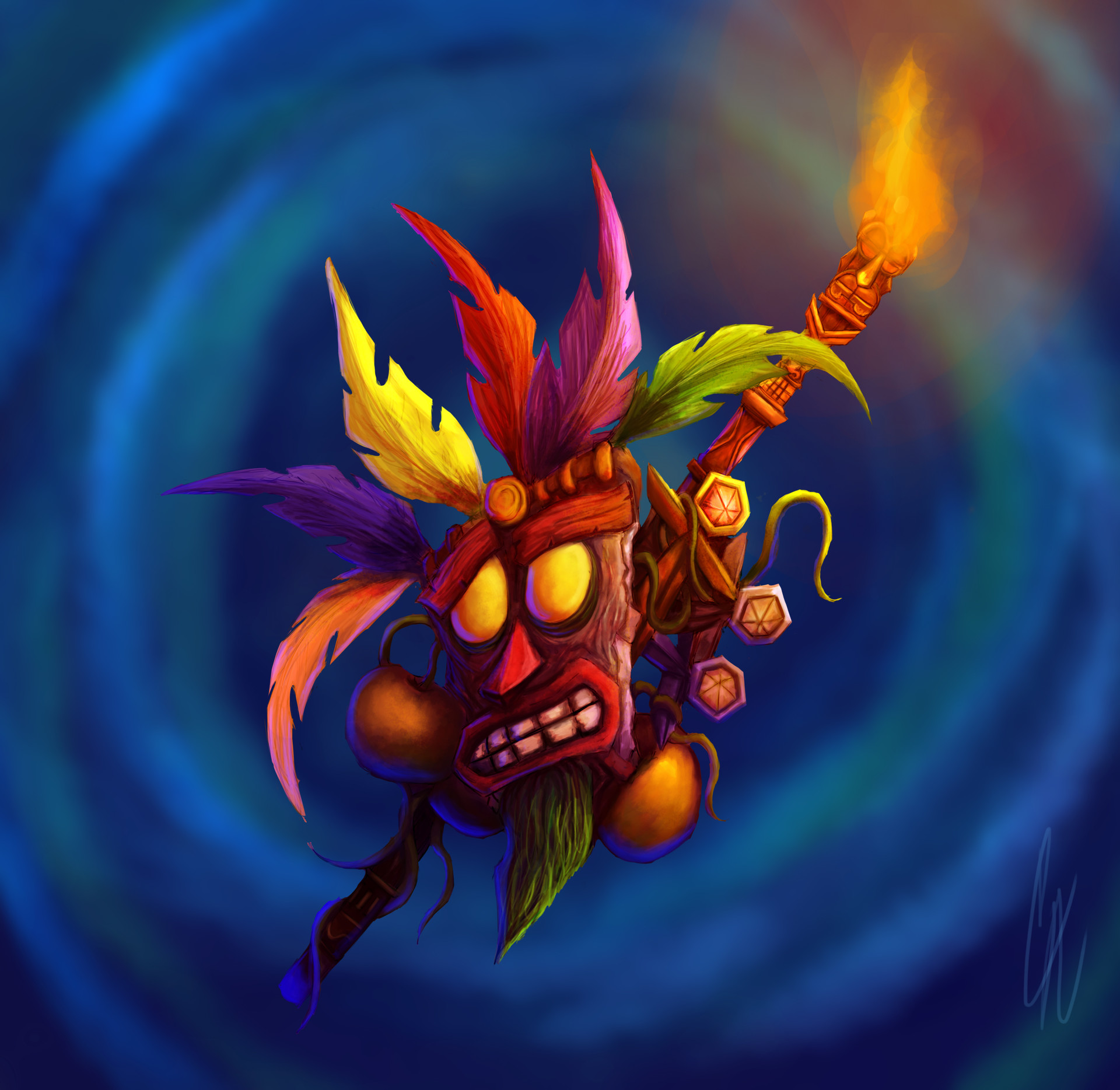 christian ardila crash bandicoot characters