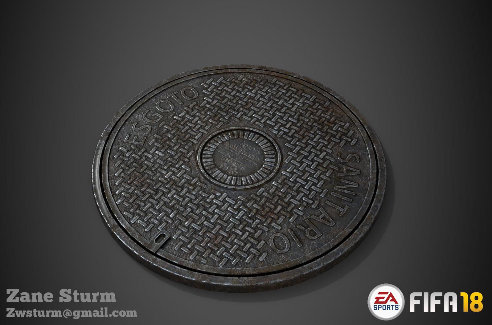 Zane sturm manhole round