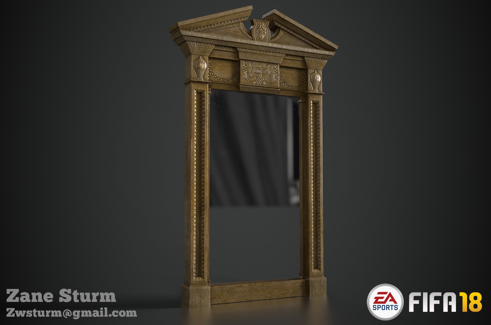 Zane sturm standing mirror