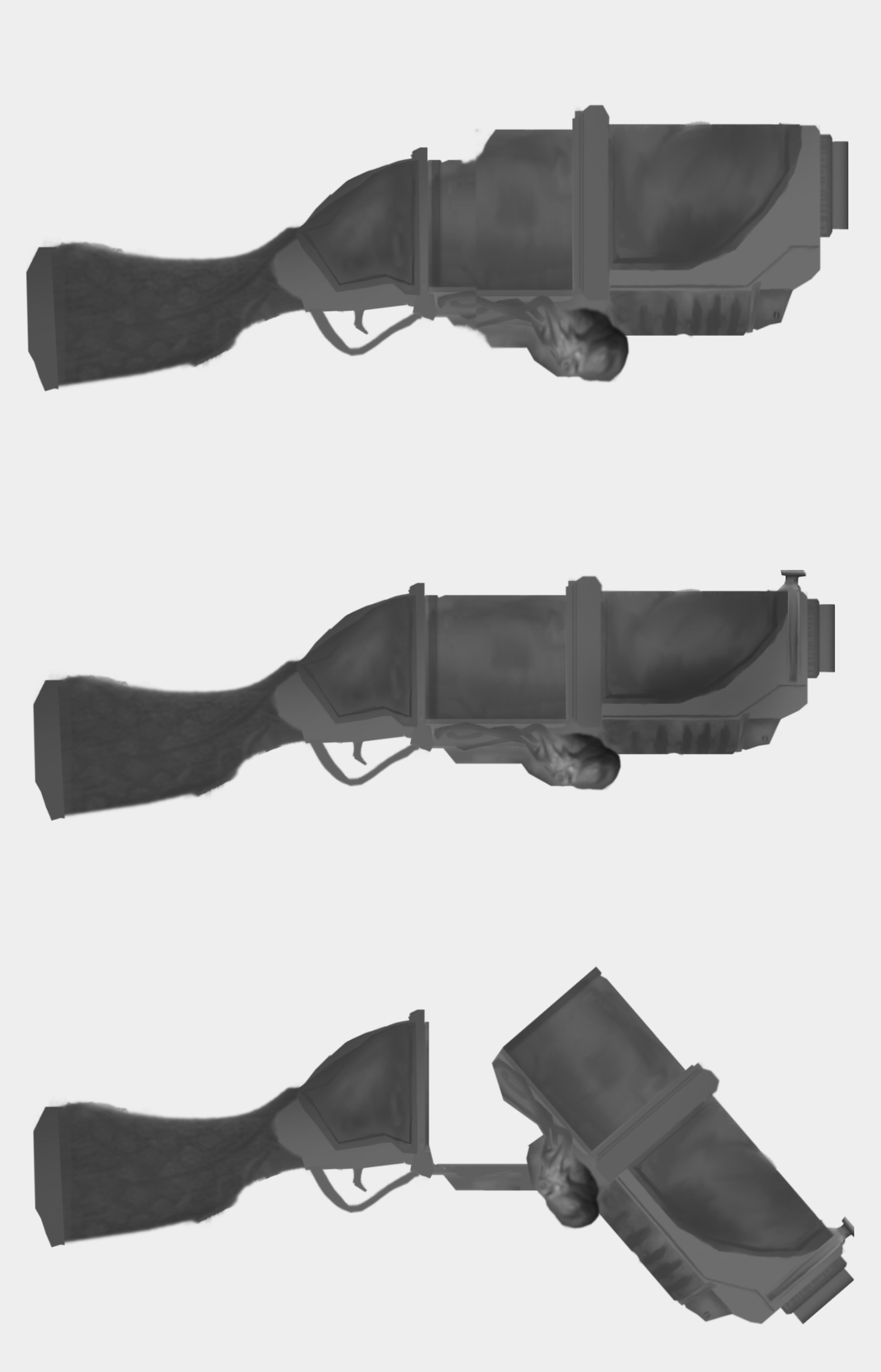 Will powell guard weapon sidearm design