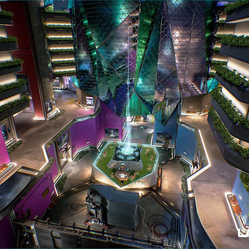 LawBreakers - Namsan: Courtyard