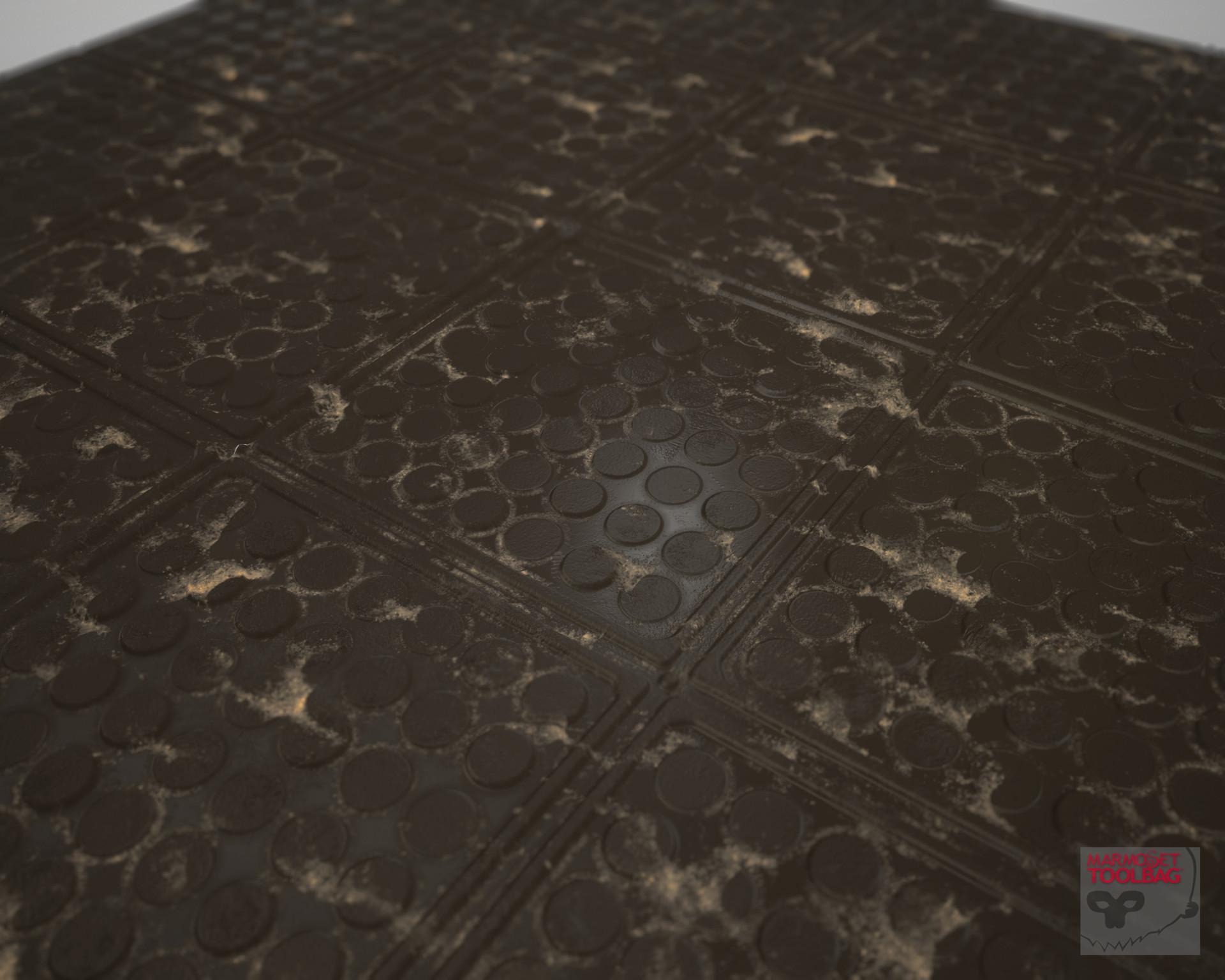 Serena Howard Substance Designer Industrial Rubber Floor Tile