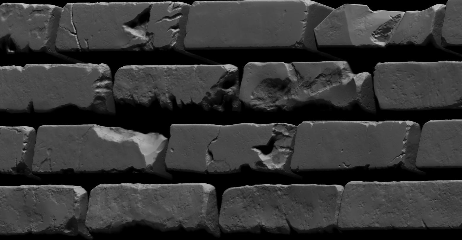 Bela csampai brick wall 01 render zb 05