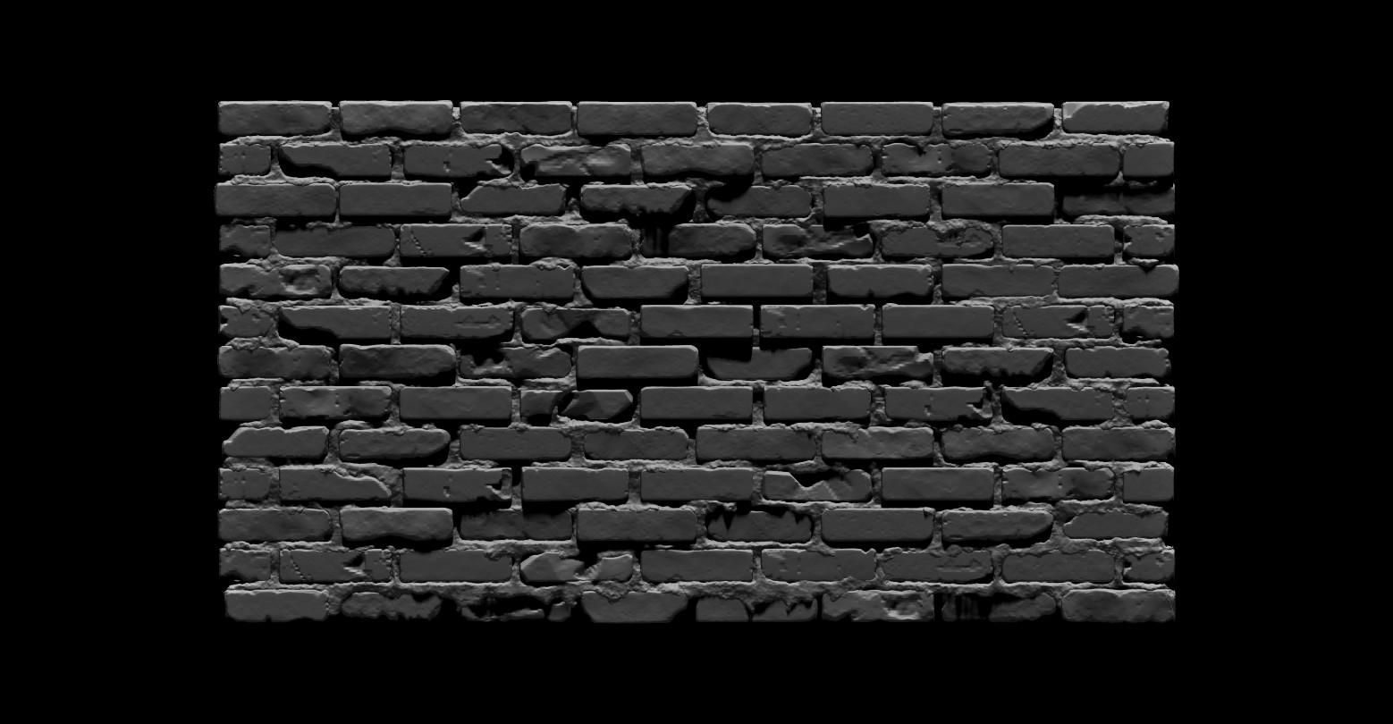 Bela csampai brick wall 01 render zb 02