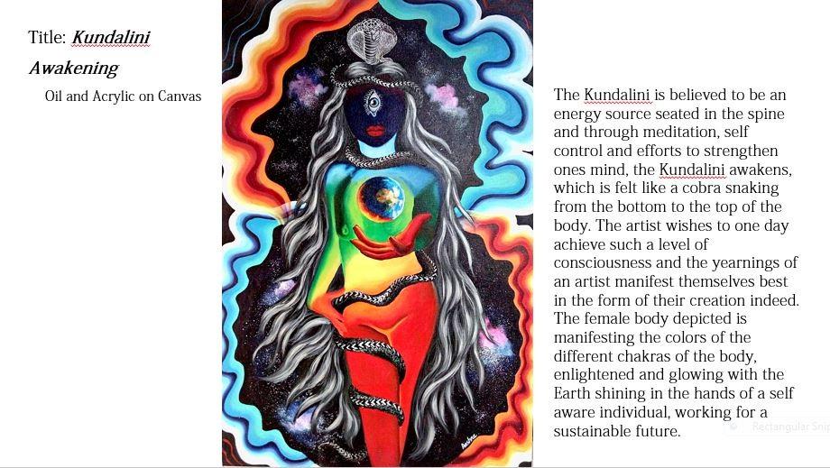 ArtStation - 'Kundalini Awakening', Aashna Aasif