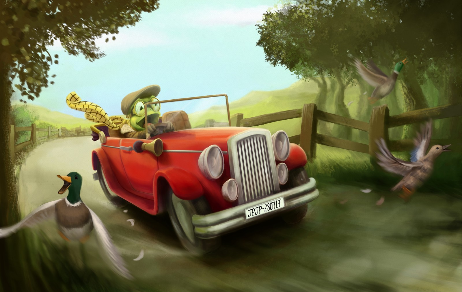 Mr Toad's Wild Ride