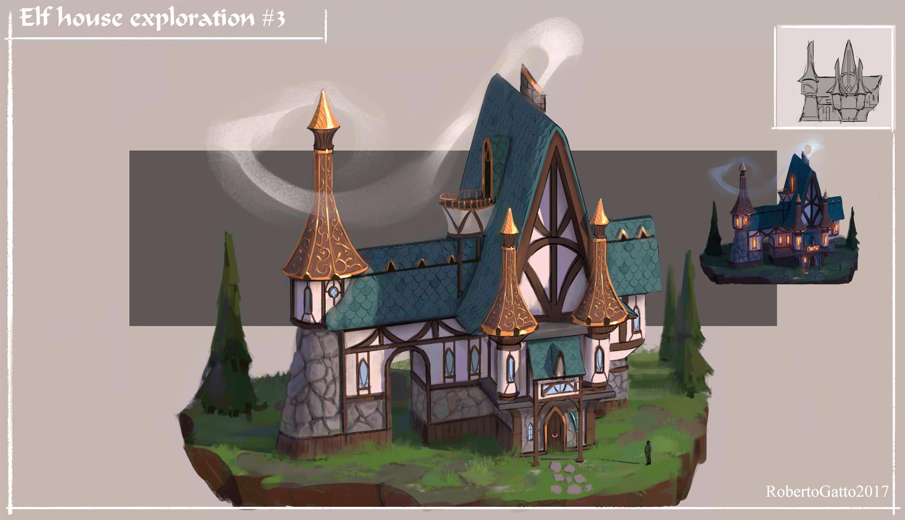 Snow Elves -  House exploration