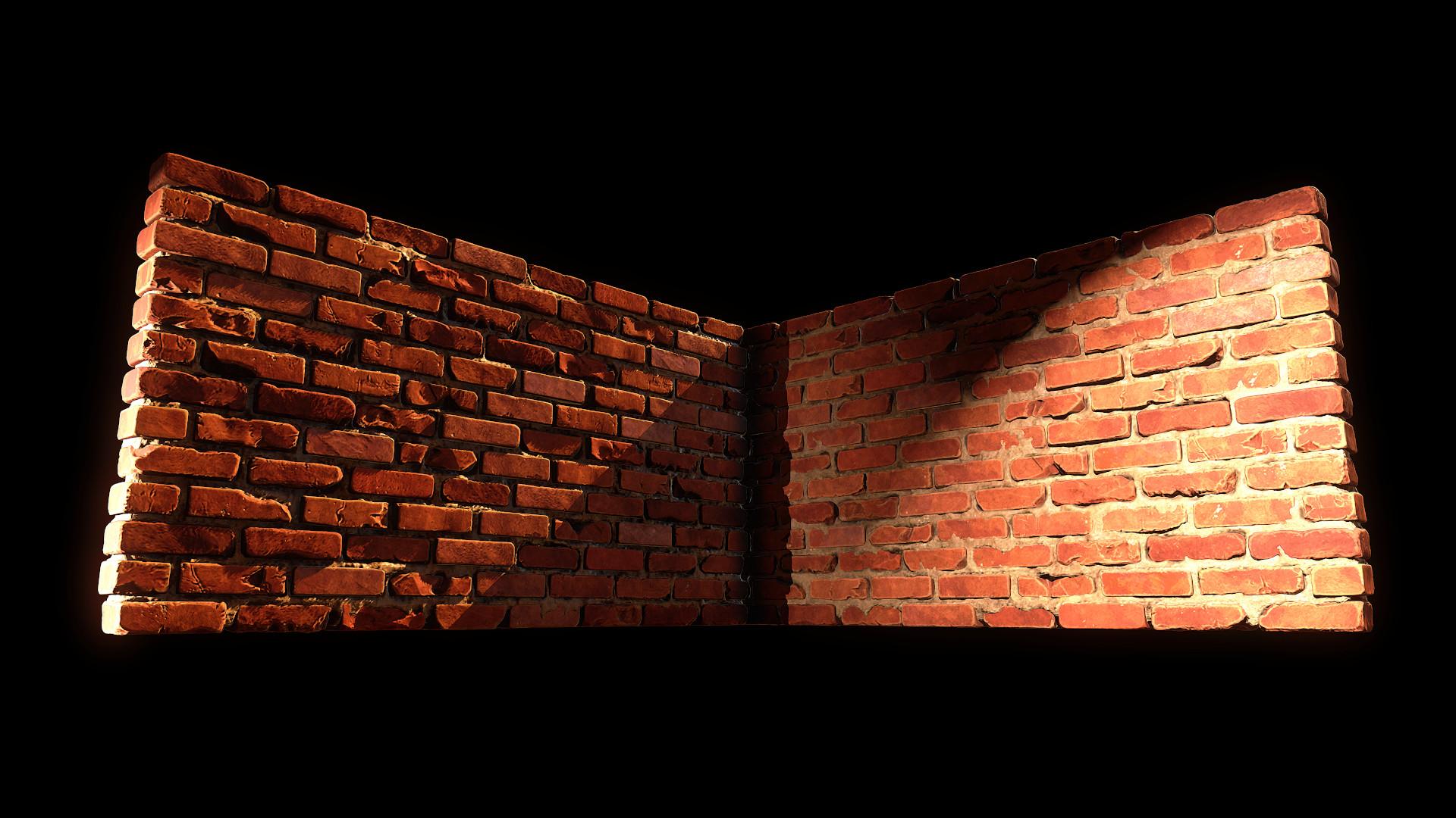Bela csampai brick wall 01 render mt 01