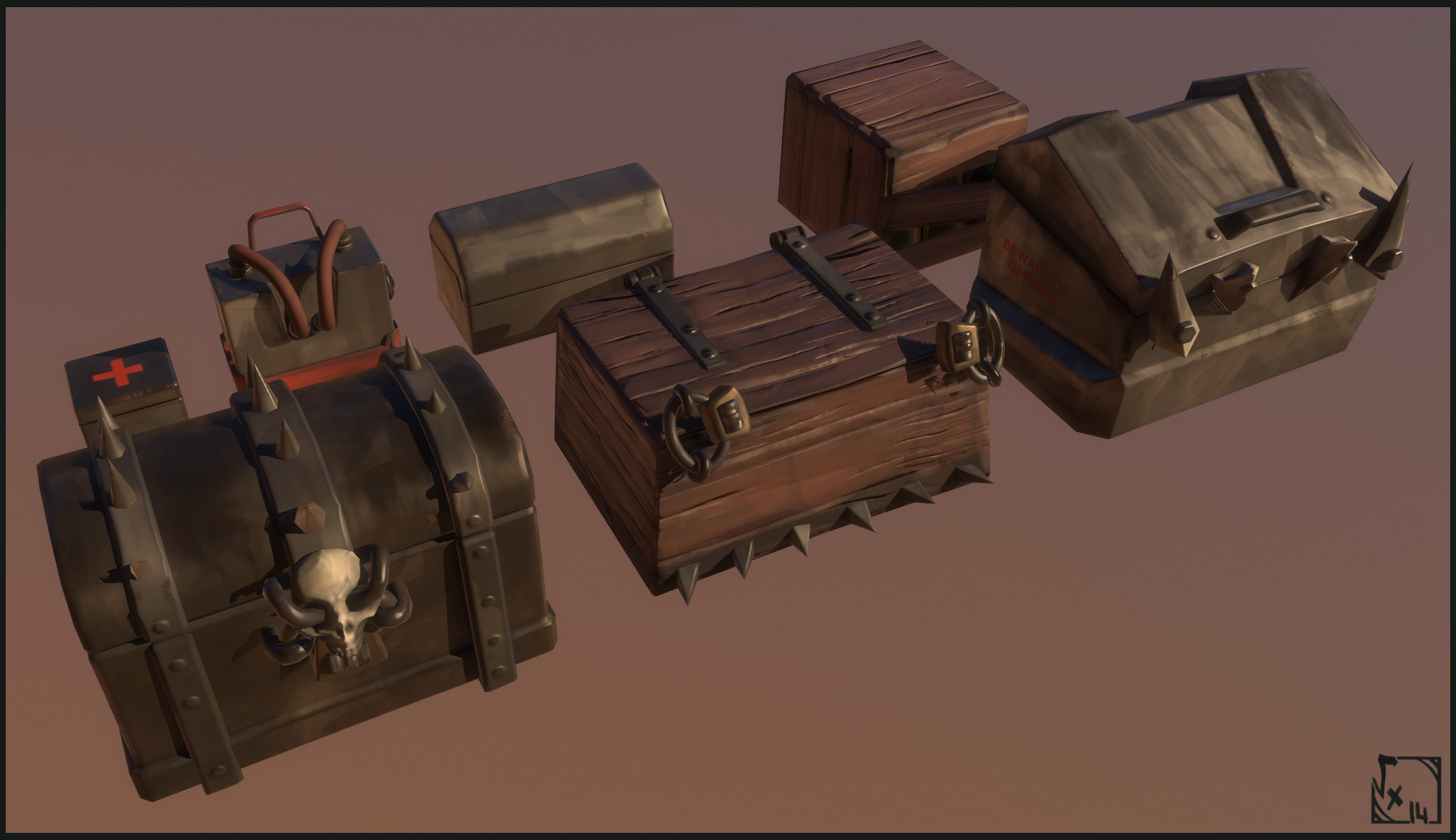 Crates - Crates and barrels will always be part of most game's environments =P