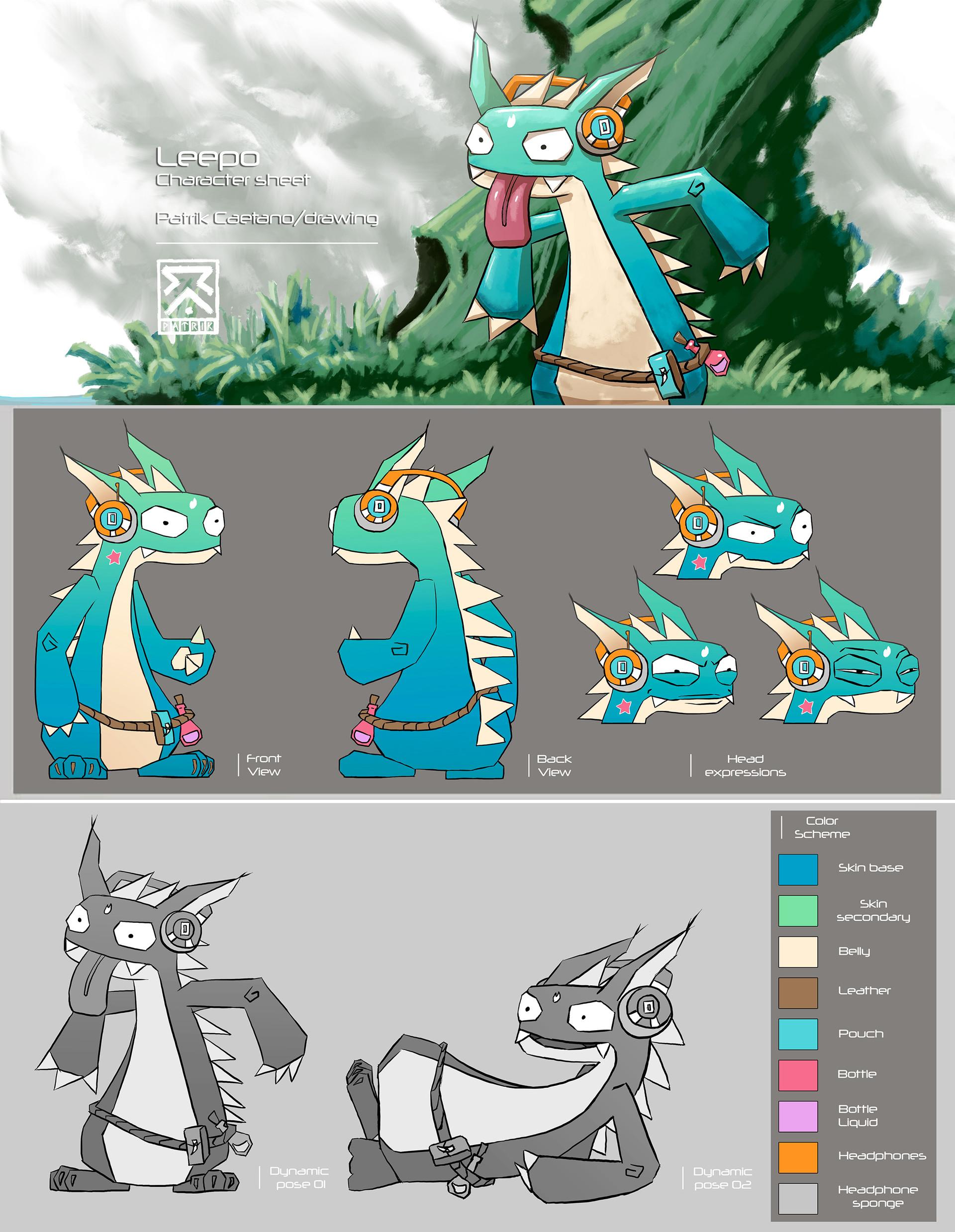 Leepo Character art