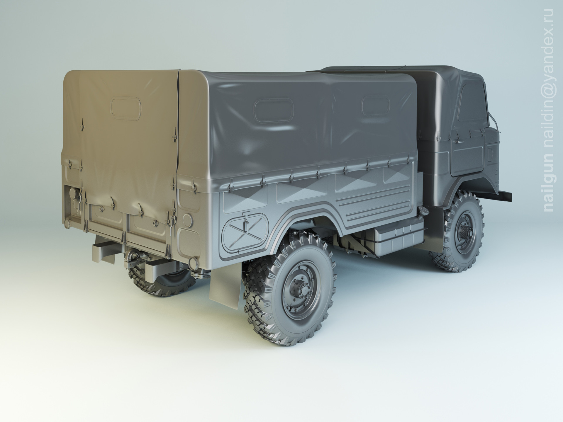 Nail khusnutdinov 008 gaz 62 modelling 1