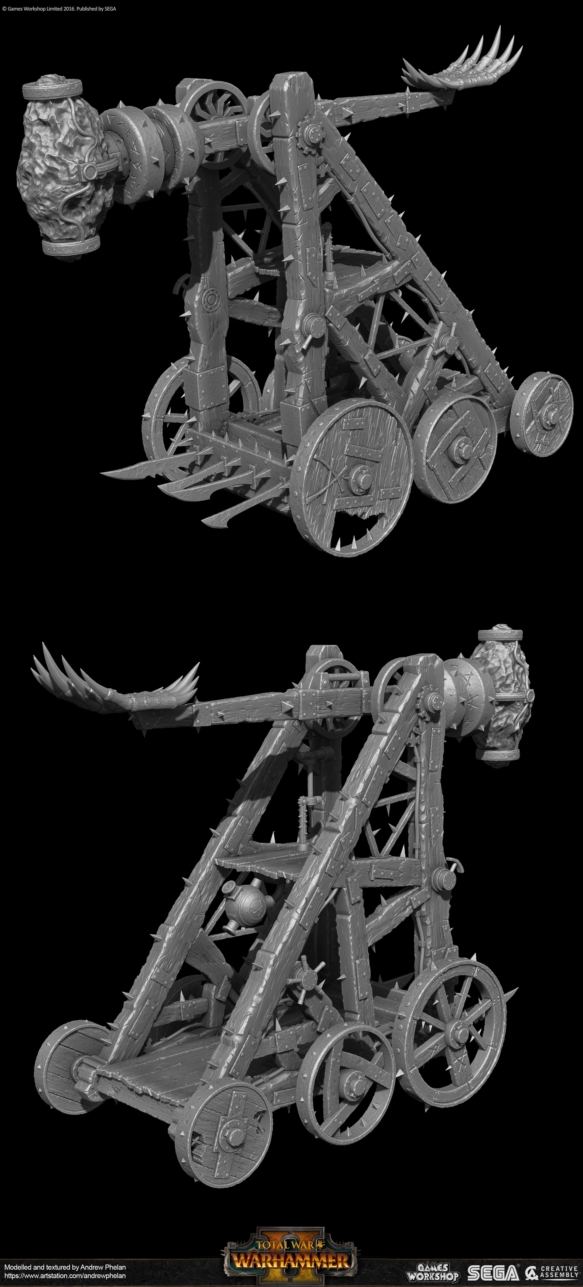 ArtStation - Skaven Models created for Creative Assembly's