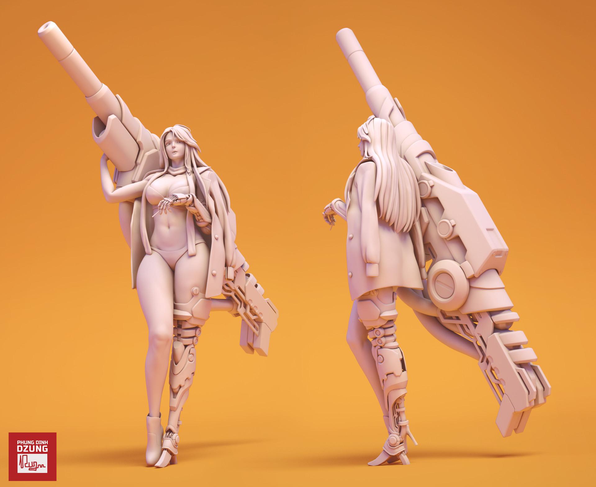 Dzung phung dinh milita sculptrender 002