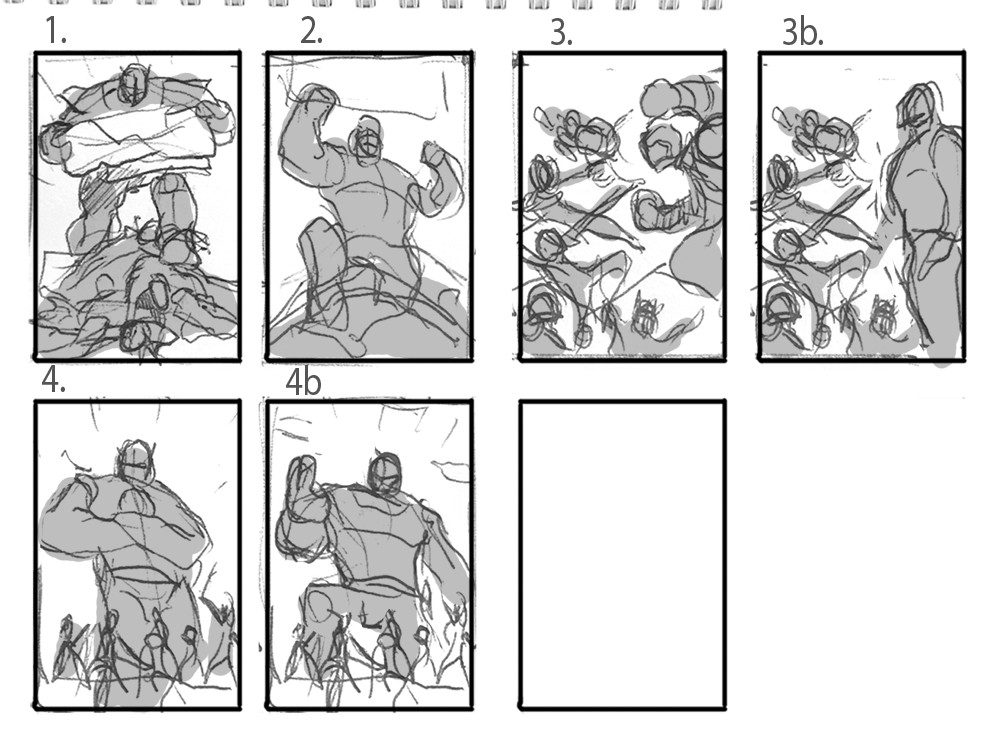 Preliminary layouts.