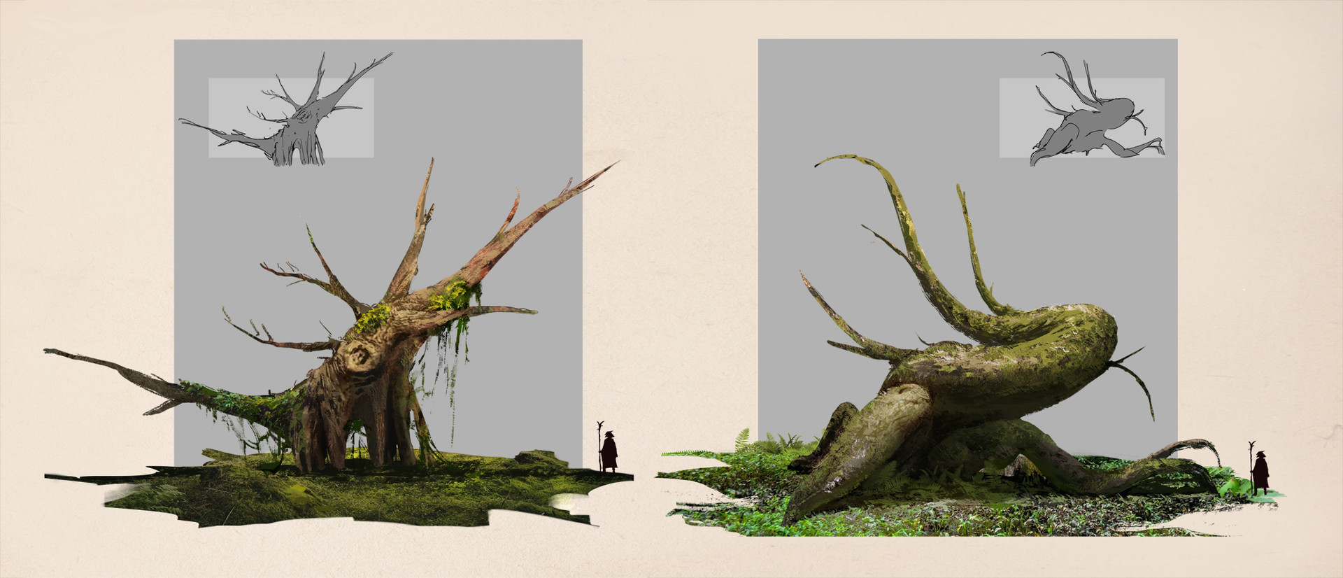 Quentin castel trees concept photobashing