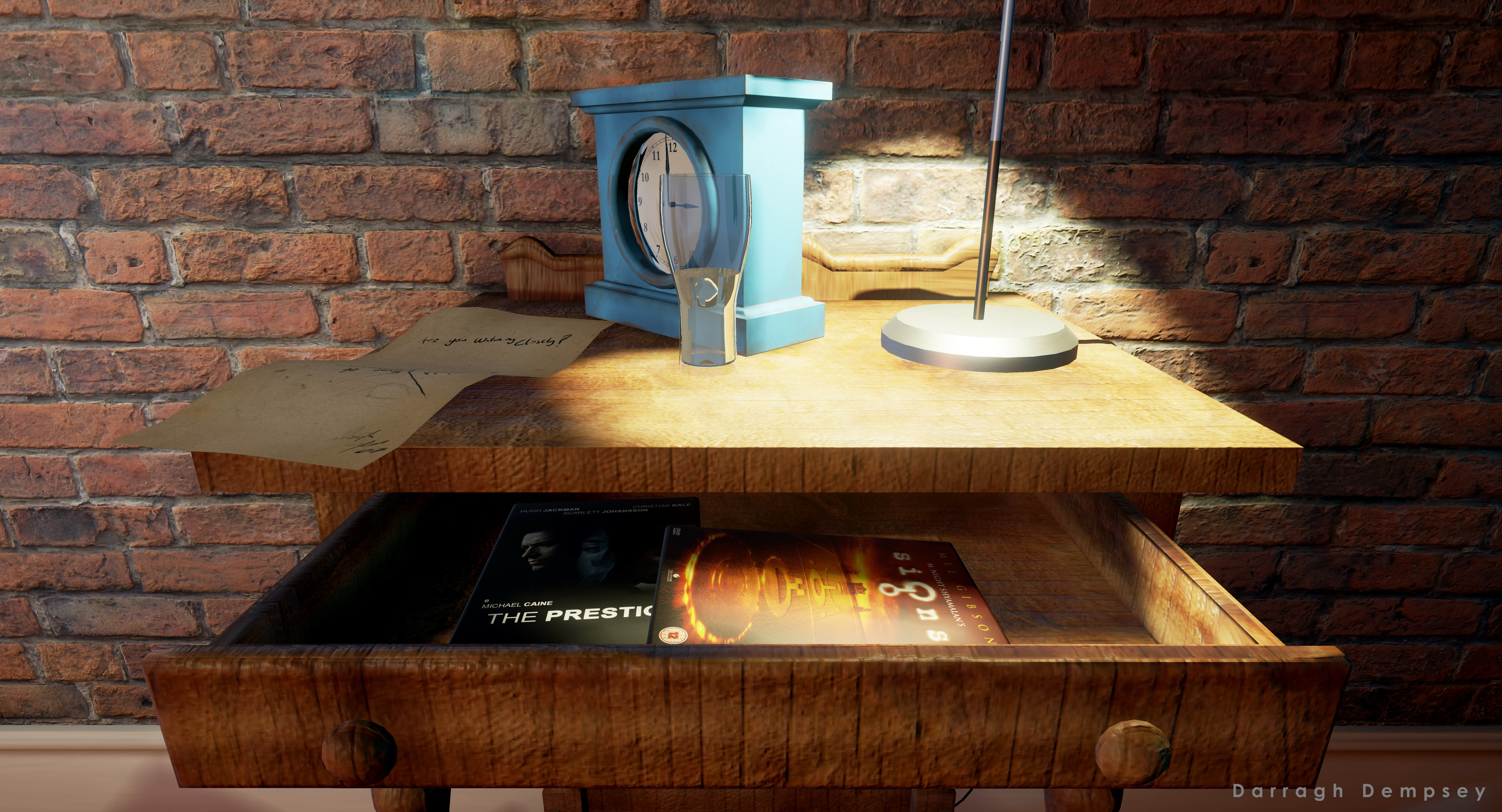 Hidden easter eggs. Unreal Engine screenshot.
