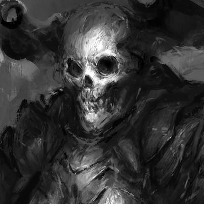 Yuan cui skull 1