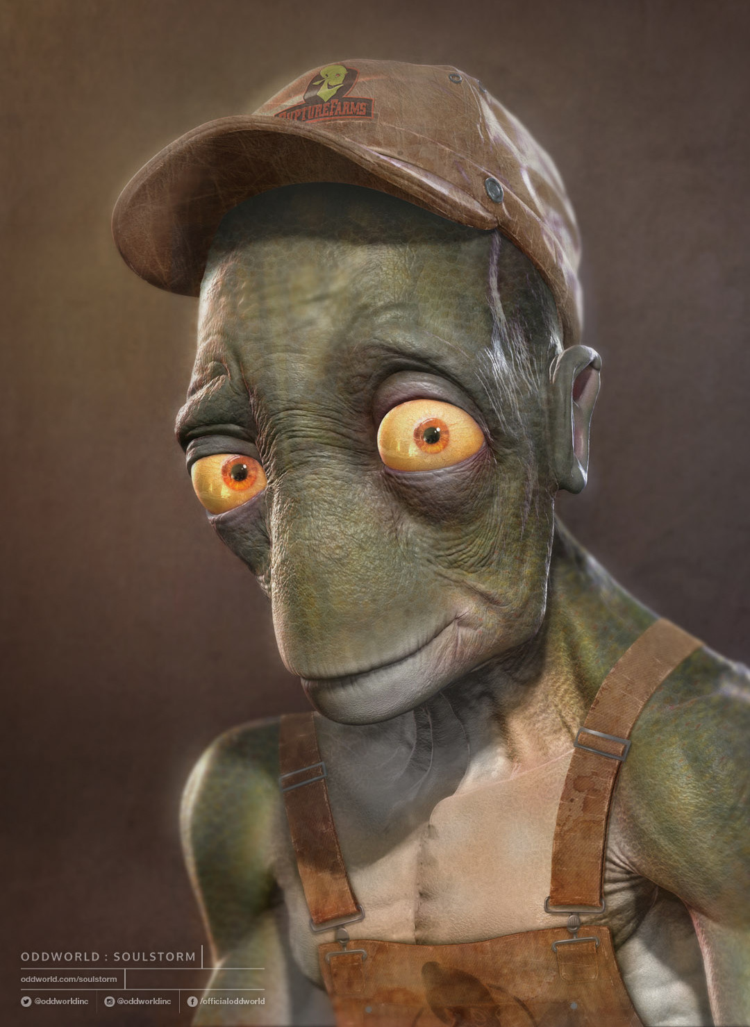Oddworld Soulstorm character portraits, Alf