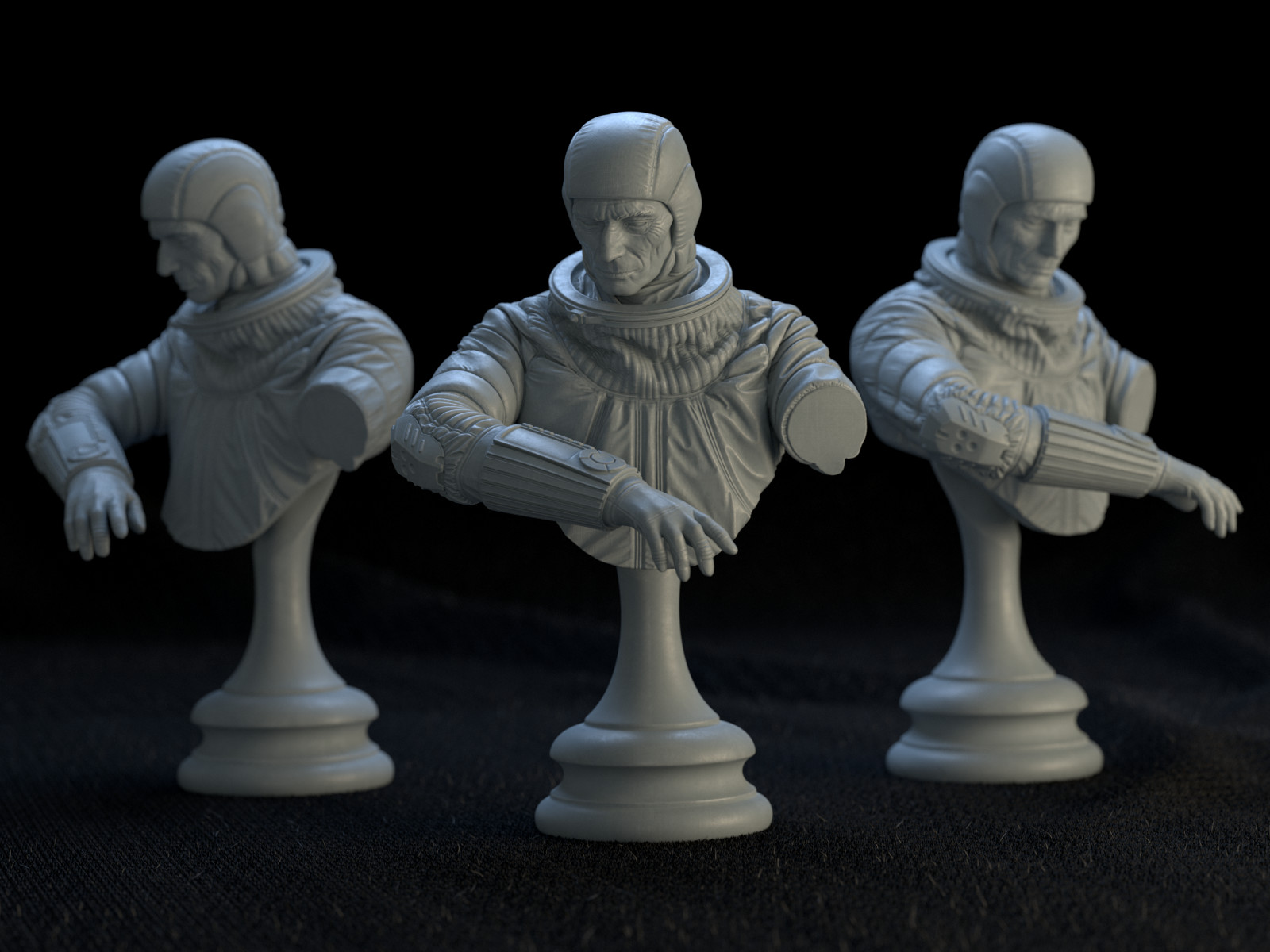 Jesus bibian jr spacemanbust trio