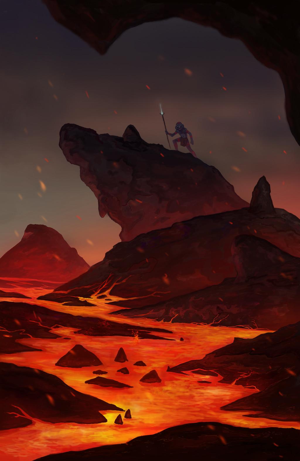 Josh merrick erupcion2