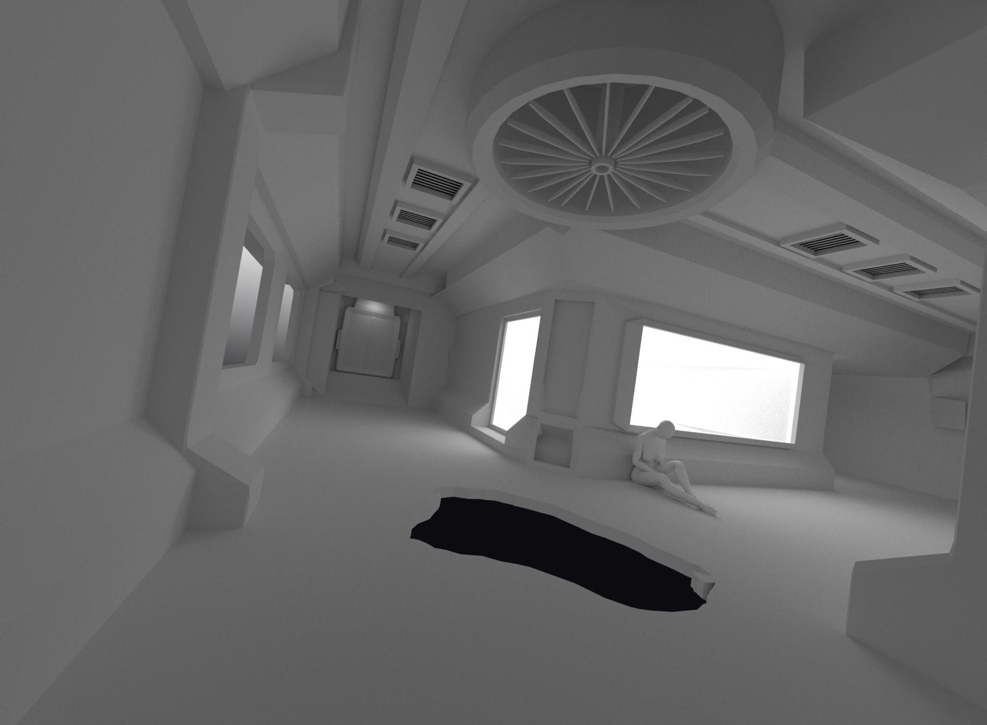 Art ankhn corridor render