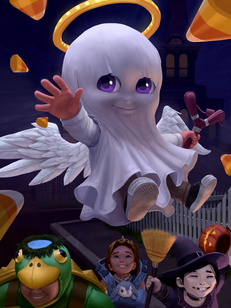Trick or Treat Cupid