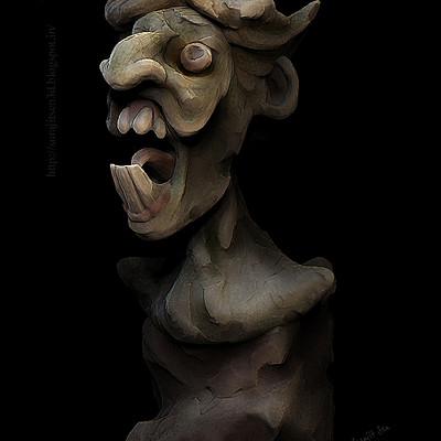 Surajit sen pre haloween mood surajitsen quick sculpt 05102017