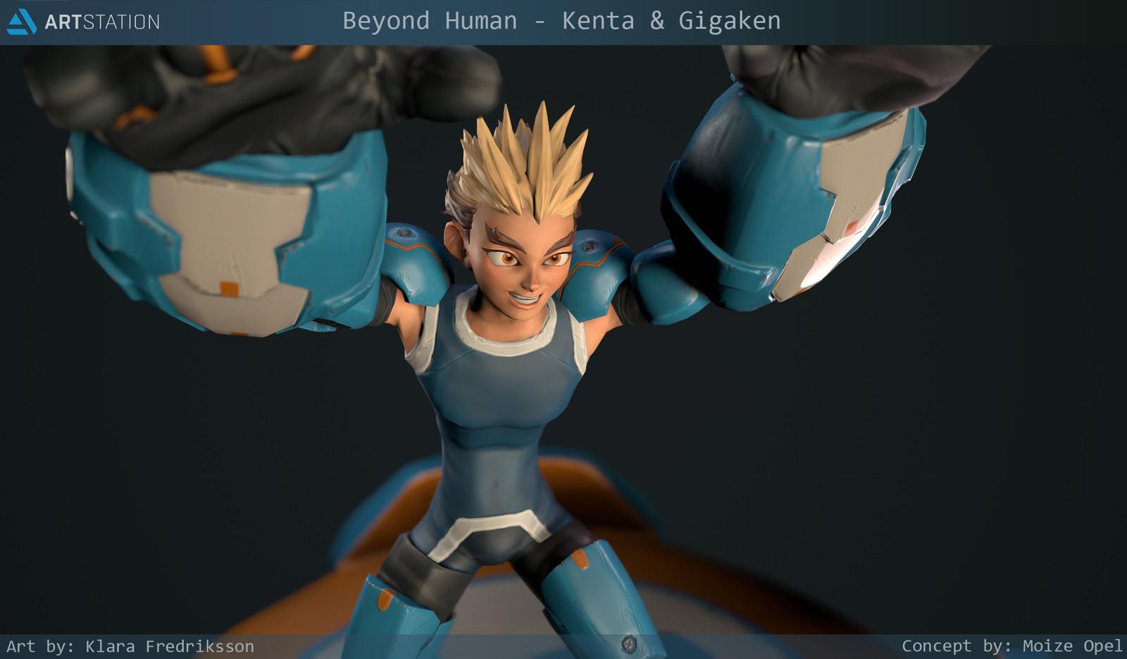 Beyond Human - Kenta