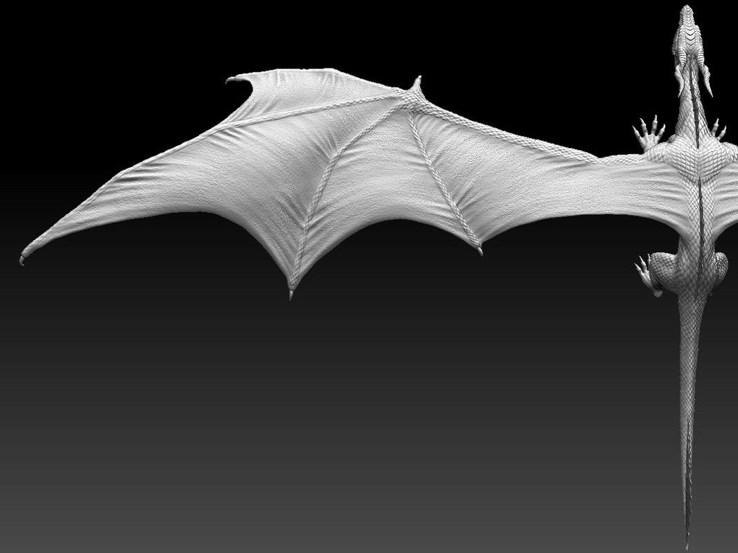 Wing sculpt