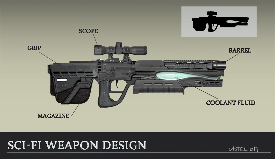 Quentin castel weapon design