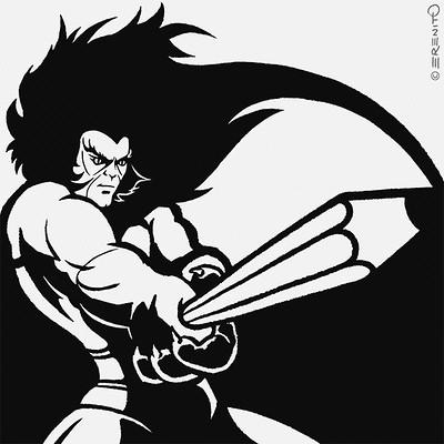 Erenito betta inktober2017 06 sword 570