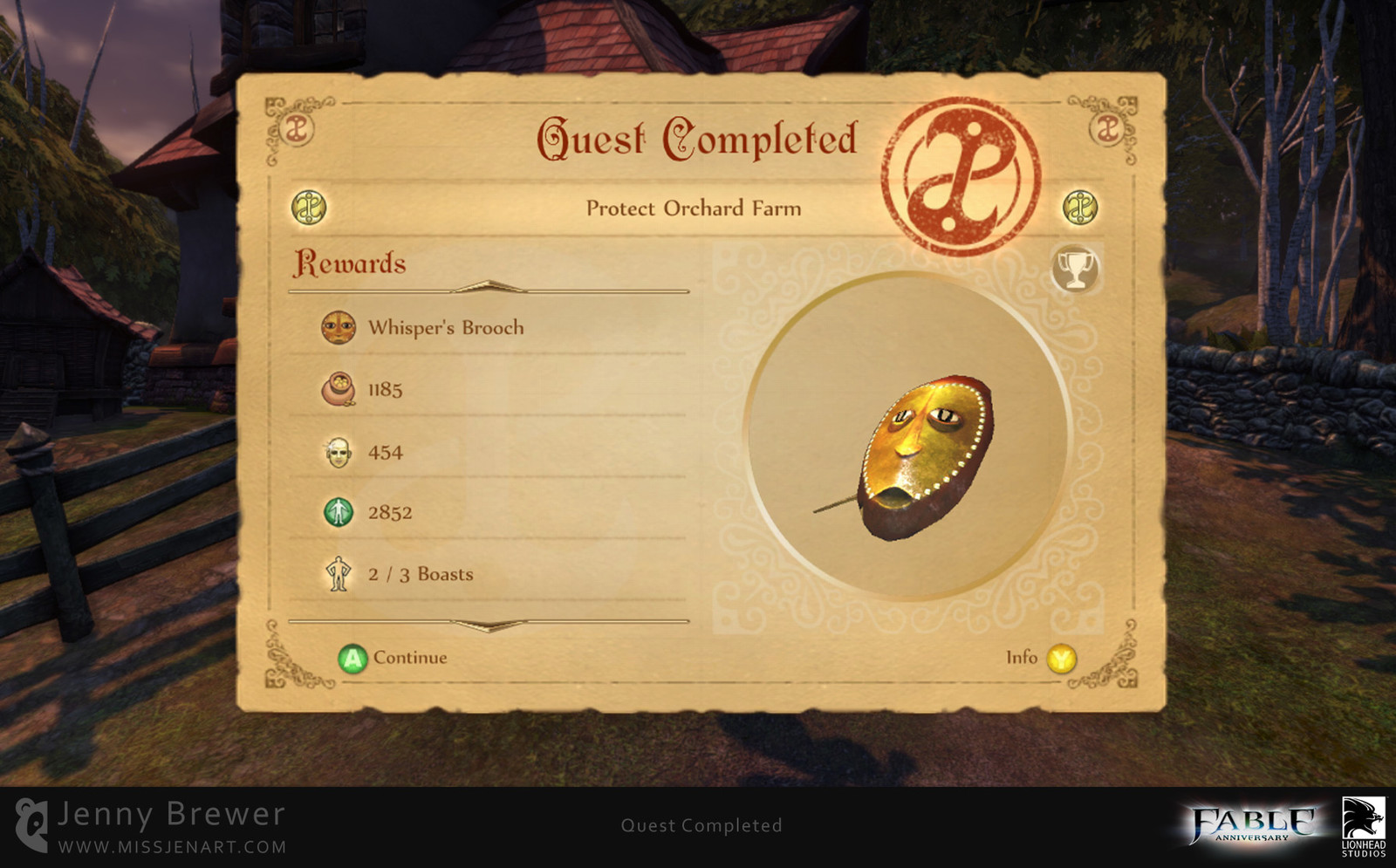 I also took the opportunity to rework the Quest screens in to something that felt more physical.  I went with the idea of using a paper card that would get stamped by the Heroes Guild once a quest was completed successfully.